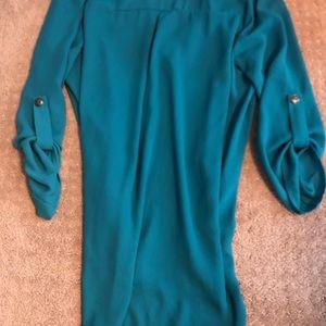 Lush Tops - Lush 🔹 turquoise blouse
